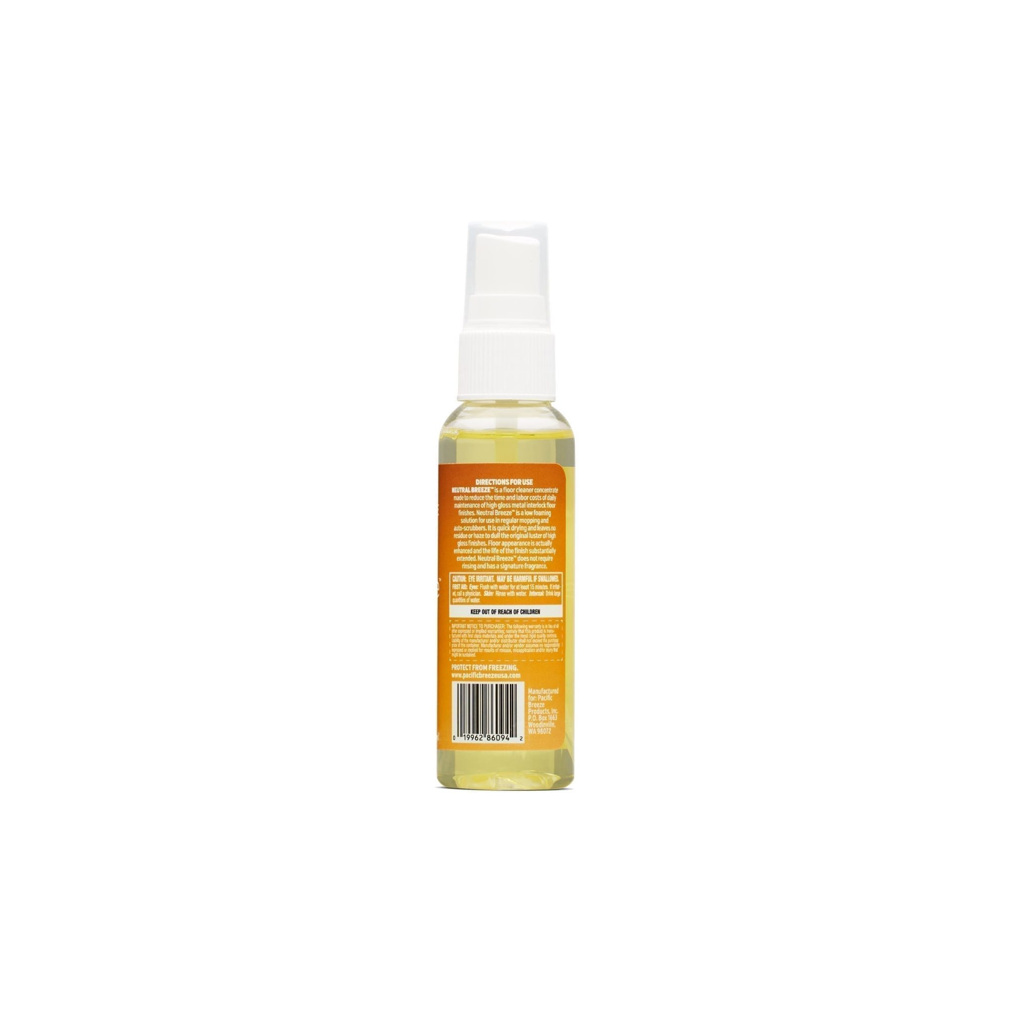 Neutral Breeze™ pH Neutral Floor Cleaner Concentrate 2oz