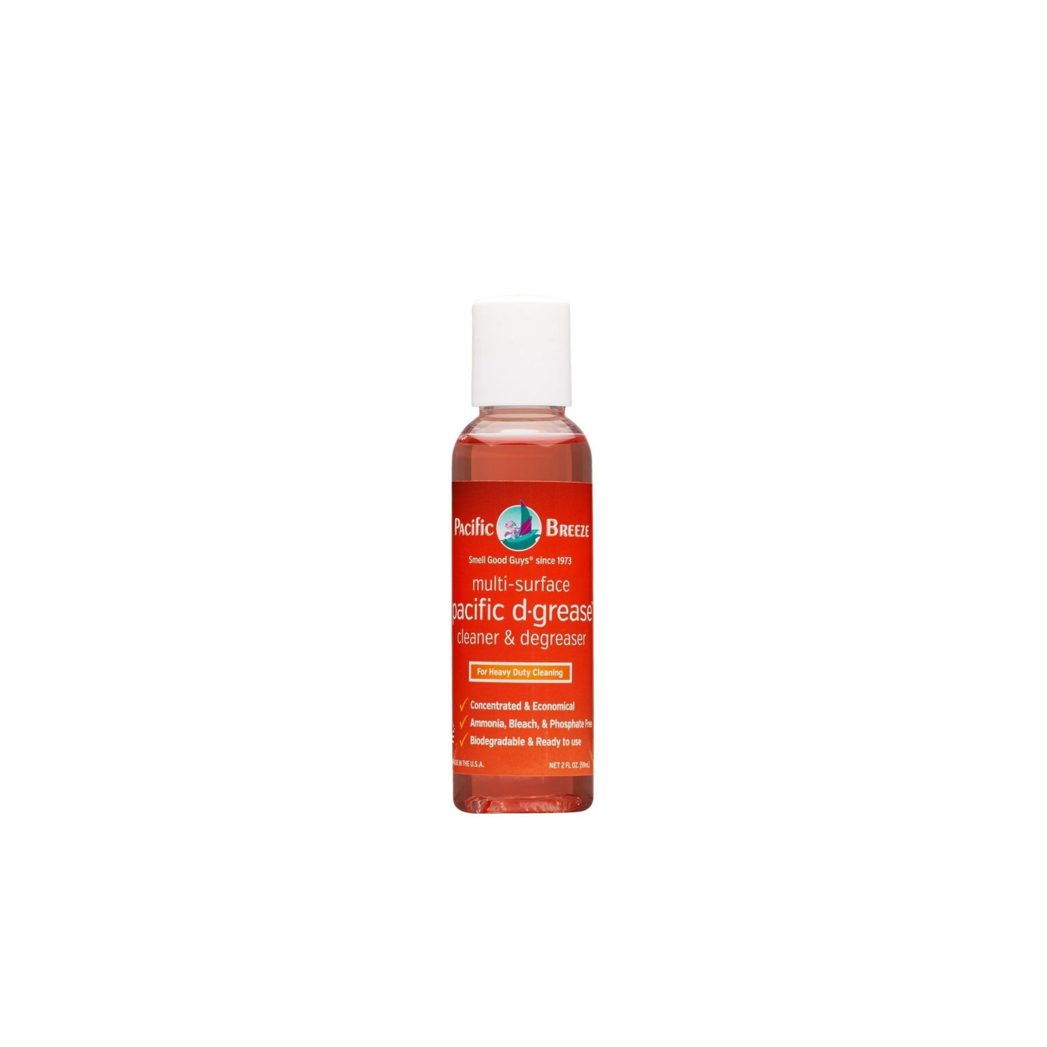 Pacific D-Grease™ Multi-Surface Cleaner and Degrease 2oz