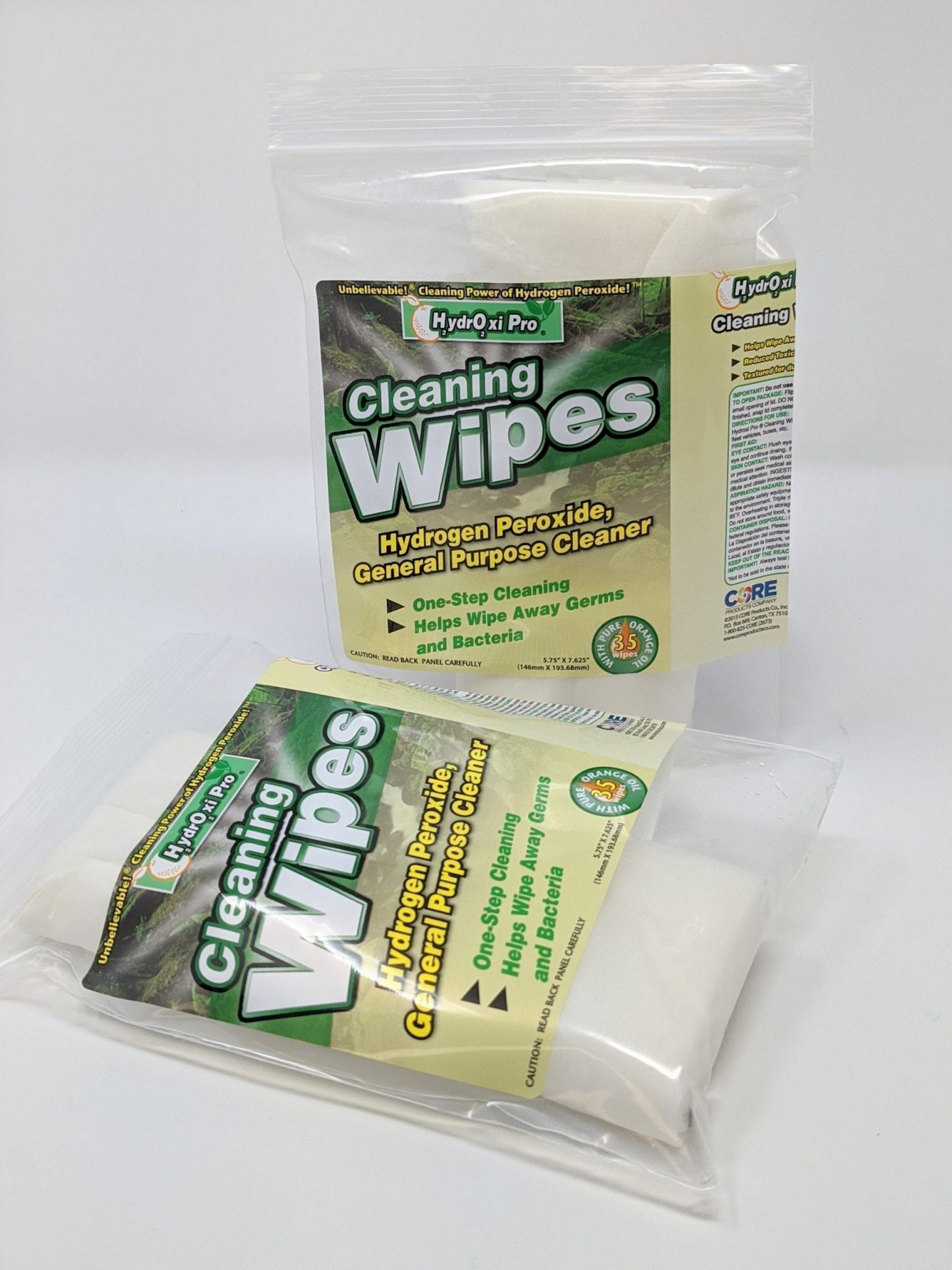 HydrOxi Pro® Hydrogen Peroxide General Purpose Cleaning Wipes
