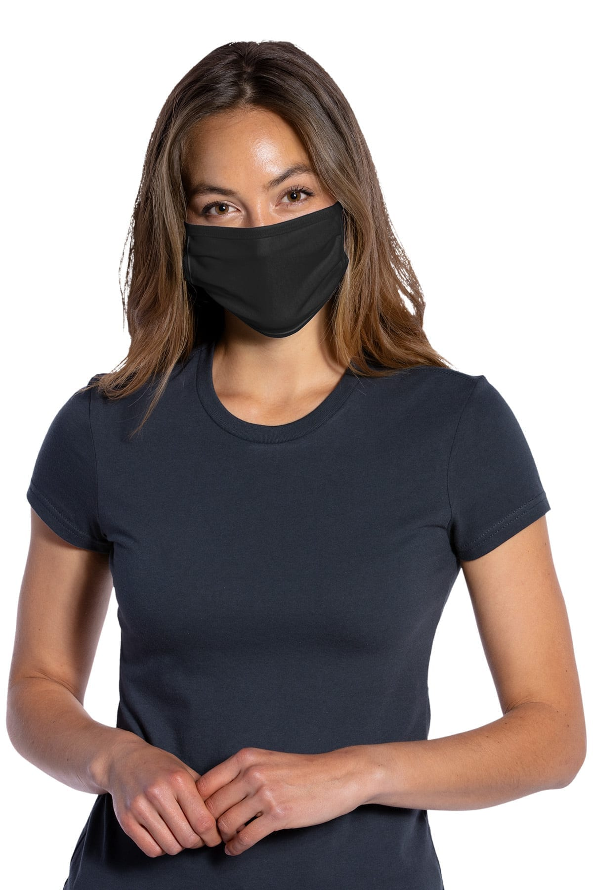 Three-Ply Cotton Washable Knit Face Mask (5 Masks)