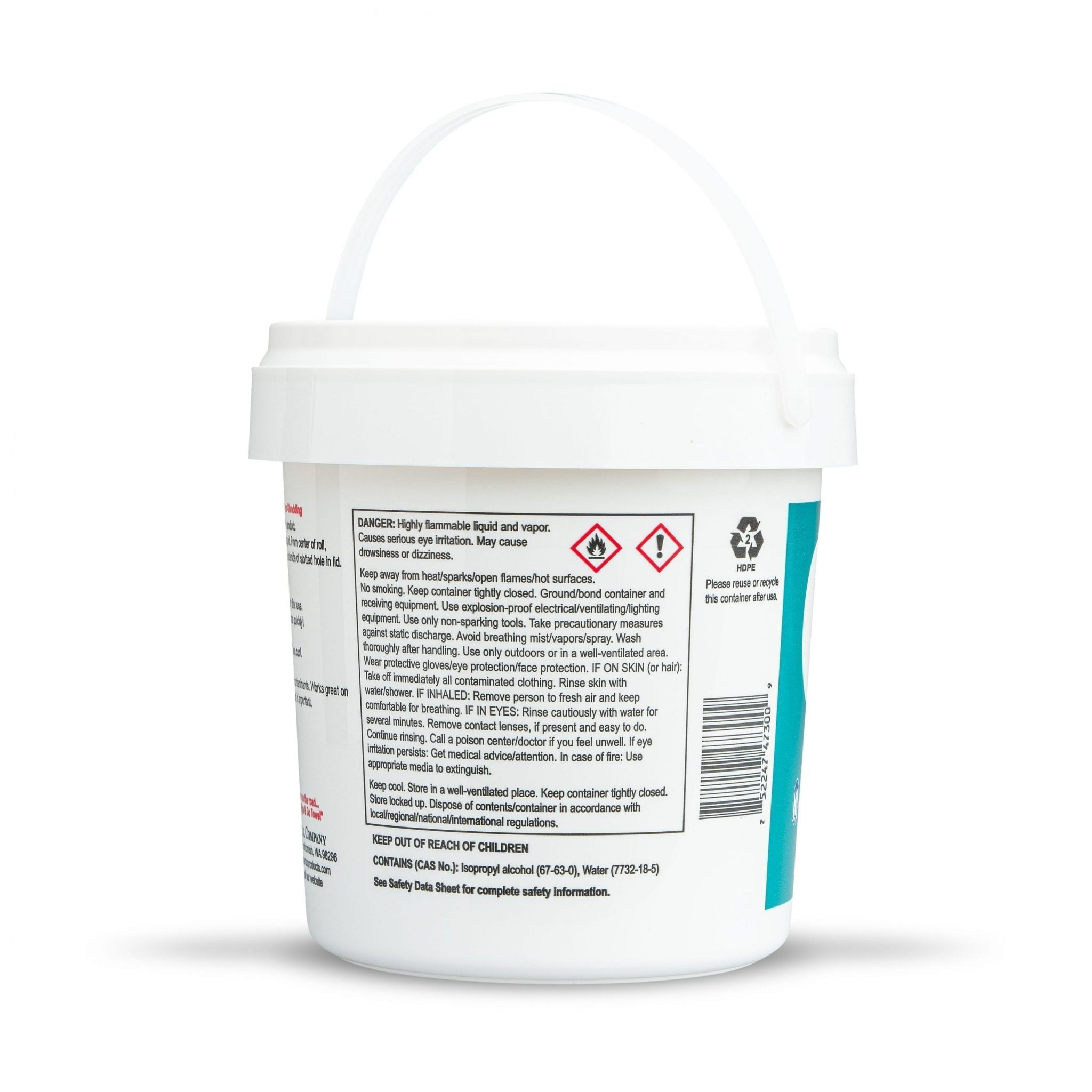Dyna Wipes Isopropyl Alcohol Wipes